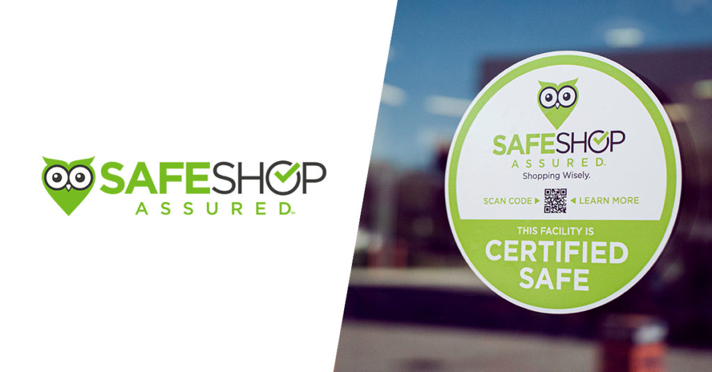 Volta Oil Awarded Safe Shop Assured™ Certification at Select Rapid Refill and Garrett's Family Market Locations